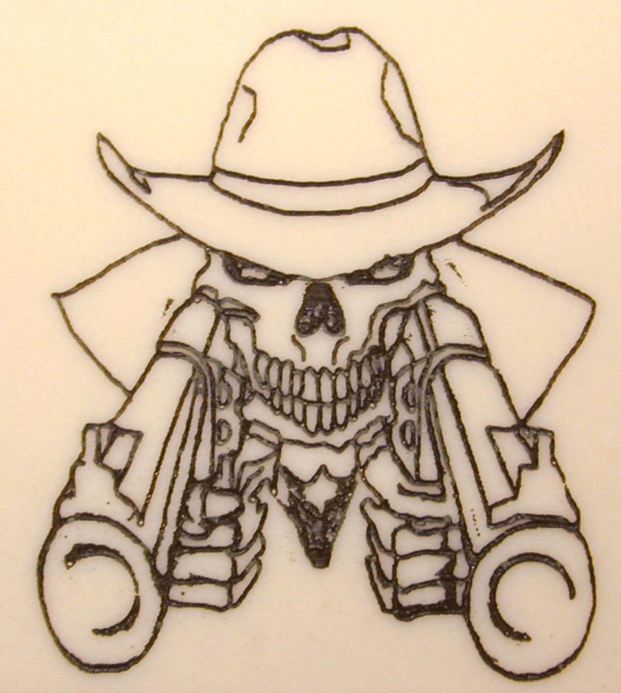 75b63b02aa2 skull and guns gunfighter